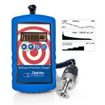 DigiVac Bullseye Vacuum Gauge for processing