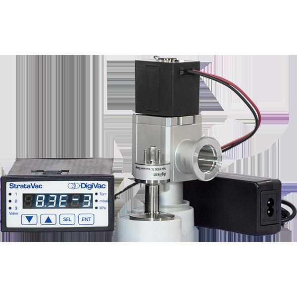 Distillation Vacuum Controller | DigiVac StrataVac with Bellows Throttle Control