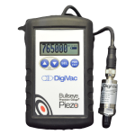 Vacuum/PSI Bluetooth Gauge for Solvent Recovery