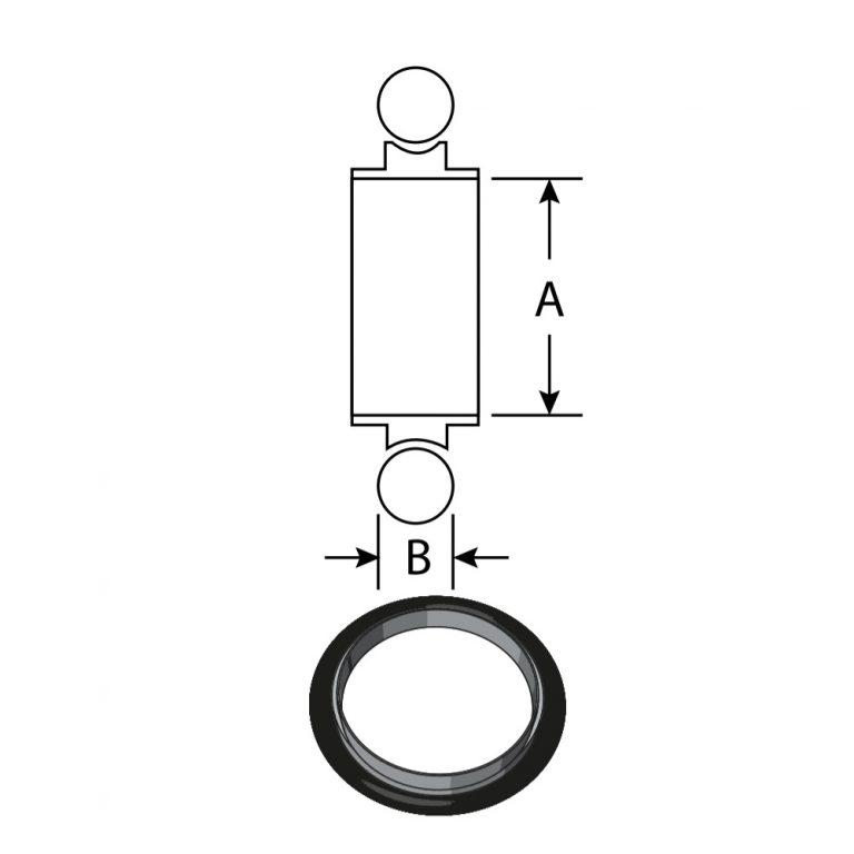 centering ring   vacuum fitting