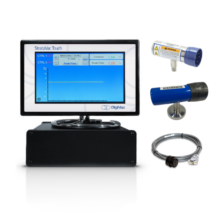 StrataVac Convection Pirani Gauge Controller   MKS 275071